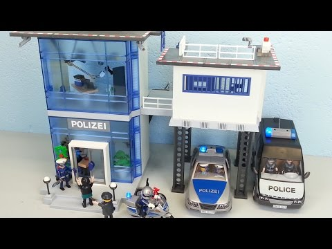 playmobil-polizeistation-5176-auspacken-seratus1-alarm-policestation