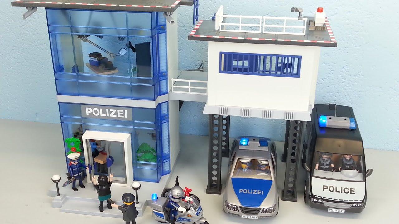 playmobil polizeistation 5176 auspacken seratus1 alarm