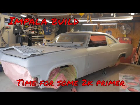Impala project update/ 2k primer, paint gun hack and a setback
