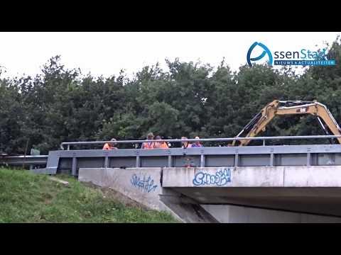 Spoedreparatie aan talud en viaduct A28 Assen