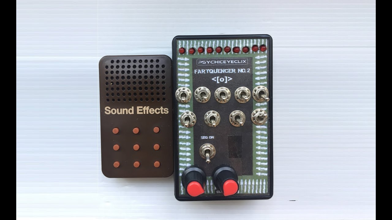 Circuit Bent Fart Machine Sequencer By Psychiceyeclix Circuitbending Circuitbent Noise Toys Cementimental