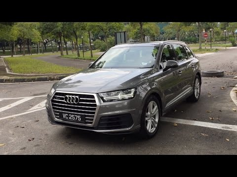 2017 Audi Q7 2.0 TFSI quattro Full In Depth Review Malaysia | Bobby Ang