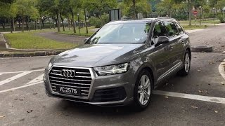 Video 2017 Audi Q7 2.0 TFSI quattro Full In Depth Review Malaysia | Bobby Ang download MP3, 3GP, MP4, WEBM, AVI, FLV November 2018
