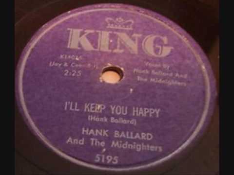 HANK BALLARD + MIDNIGHTERS  I'll Keep You Happy  78  1959