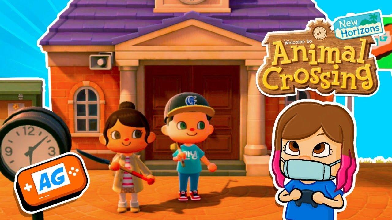 Preparativos para la FIESTA en Animal Crossing New ...