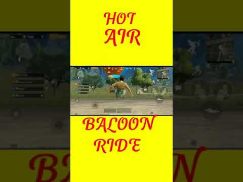 Download hot air baloon ride #pubg mobile