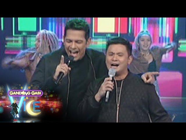 """GGV: Gary V. and Ogie sing """"Dito Sa Puso Ko"""" & """"Di Bale"""""""