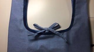 レジ袋型エコバッグの作り方 前半(Eco-bag 1/2 )
