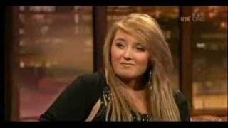 Chloe Agnew on Irish TV