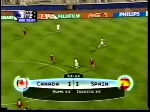 Canada v. Spain 2003 FIFA World Youth Championship QF - Iain Hume