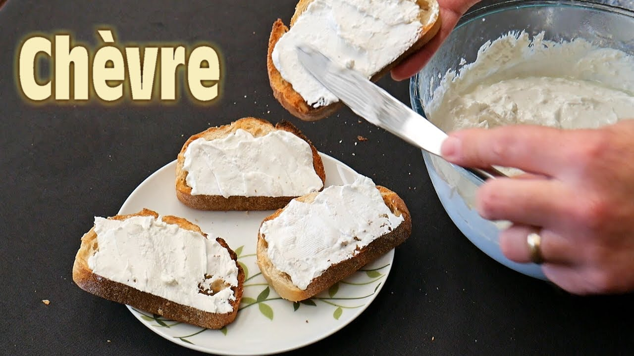 Making Chèvre at Home - Soft Goat Cheese