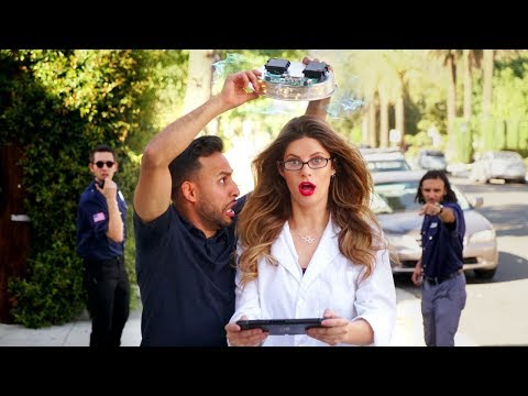 Thumbnail: The First Humans Teleported | Hannah Stocking & Anwar Jibawi