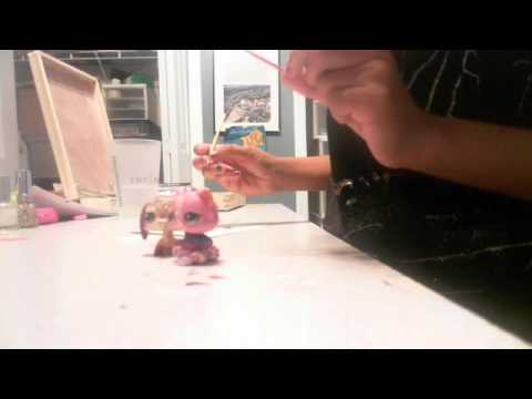 lps how to make a paintbrush