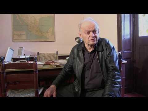 """Esteban Volkov, grandson of Leon Trotsky on Trotsky's book """"Stalin"""""""