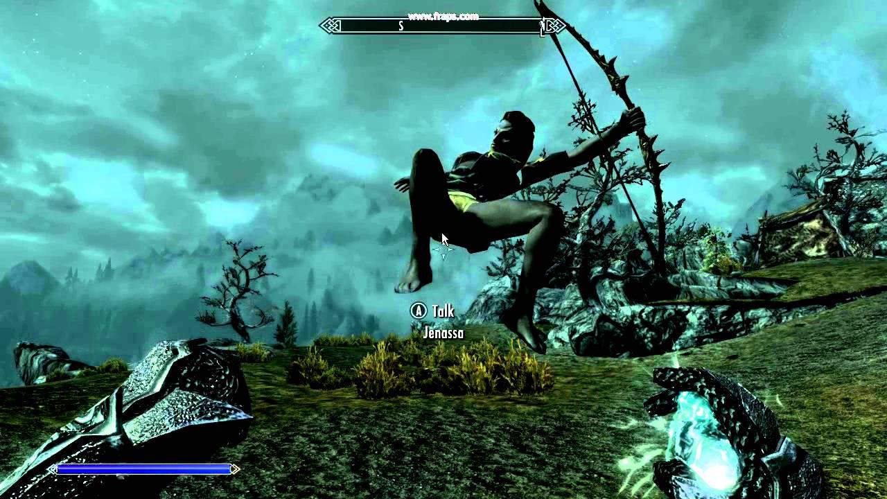 Skyrim floating/flying follower glitch
