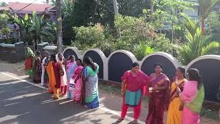 Vanitha Mathil- Womens wall in Kerala