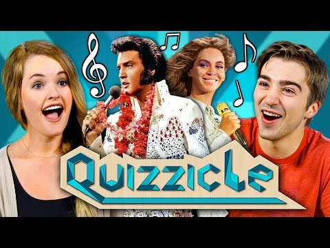MUSIC QUIZZICLE CHALLENGE!!! (New Game Show: React Special)