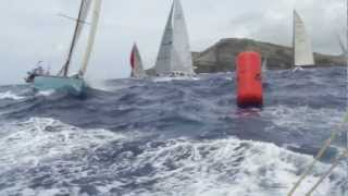 Antigua Sailing Week 2012, Thursday, the tension builds.
