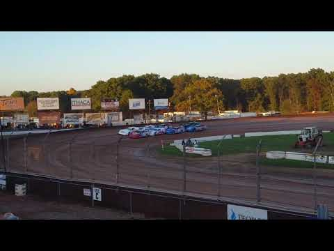 October 14, 2017 Lernerville Speedway RUSH Crate Late Model B Main #2