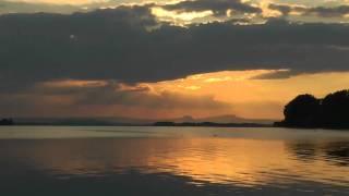 Sonnenuntergang Zeitraffer Hegne/Bodensee