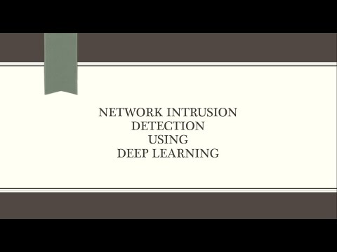 Network intrusion detection using deep learning techniques
