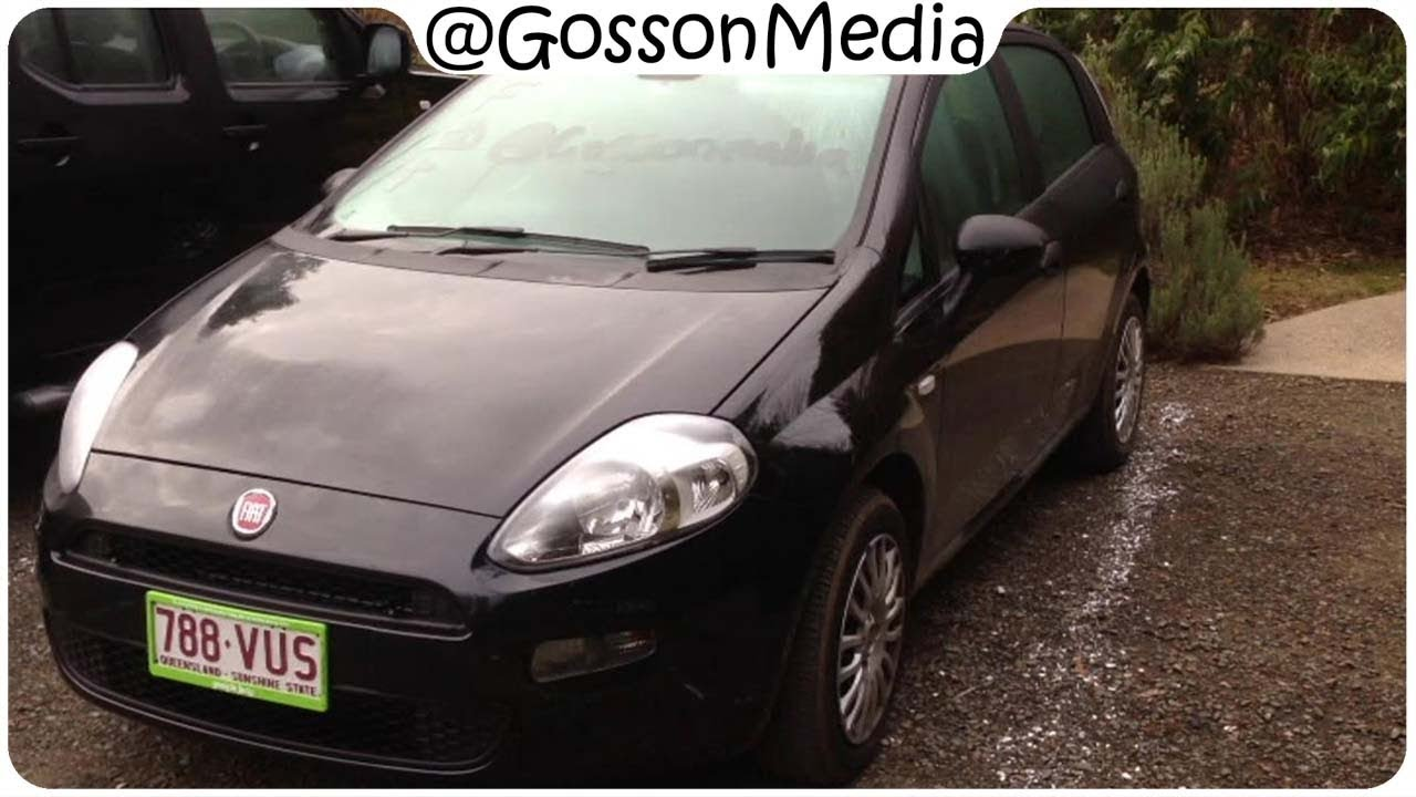 Nev Reviews : Fiat Punto 2013 with Dualogic Transmission