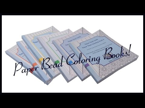 Paper Bead Coloring Books
