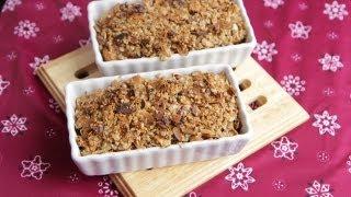 Vegan Pear Crisp Recipe (9.29.12 - Day 48) Whole Fruit Pie, Cobbler, Crumble