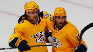 Filip Forsberg buries P.K. Subban's wing and prayer pass