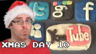 Gambar cover DAY 10: Almond Paste Social Networks - 12 Days of Geek Christmas