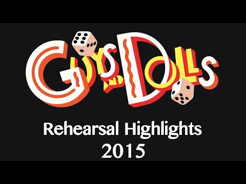 Linfield Christian School's Guys and Dolls 2015 Tech Highlights