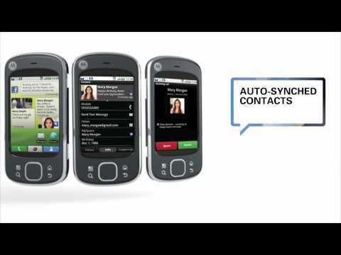 Motorola CLIQ XT / QUENCH with MOTOBLUR
