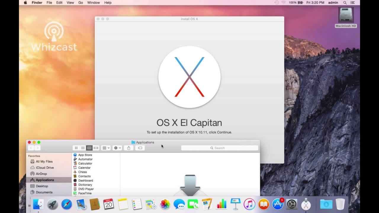 Upgrade To El Capitan Mac Os 10 11 Youtube