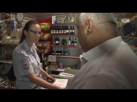 Ночной рейд по незаконным точкам продажи алкогольной продукции