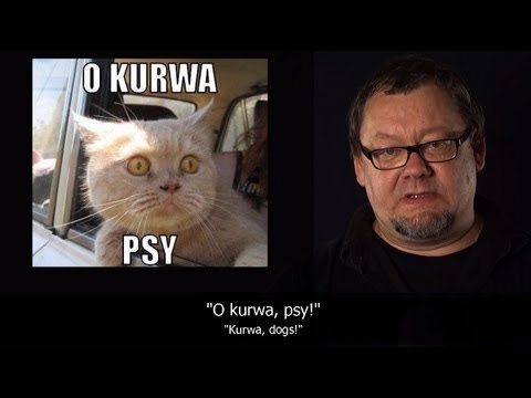 """""""Kurwa"""" w języku polskim. / """"Kurwa"""" in Polish language"""