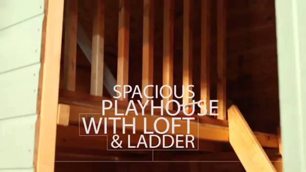 7 x 5 snowdrop playhouse youtube
