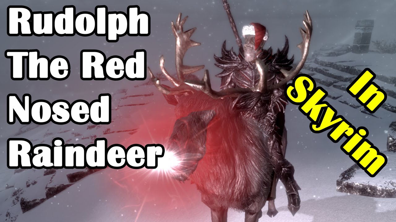 Gay rudolph the red nosed raindeer