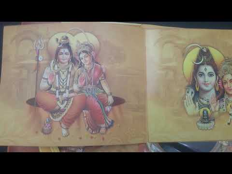 """opening of a Grand hindu """"wedding invitation"""" card of my friend..bangalore in India"""