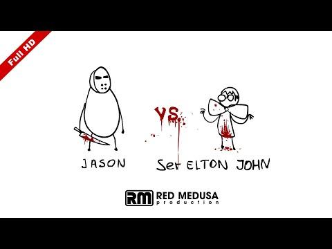 Animated Versus - Jason VS Elton John FullHD
