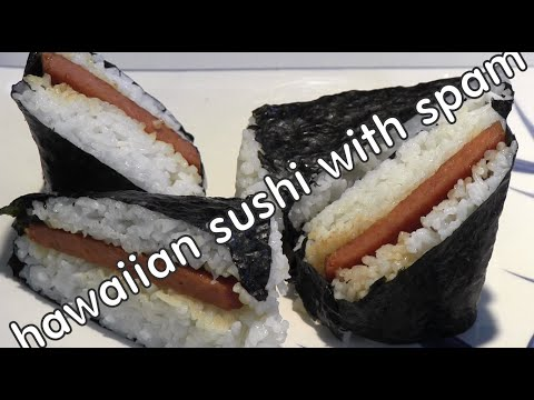 How to make Hawaiian Spam Mosubi
