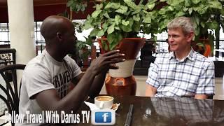 TRAVEL WITH DARIUS TV MEETS KINGFISHER JOURNEYS RWANDA