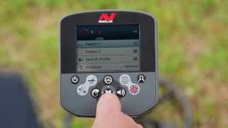 Discrimination features of the Minelab CTX 3030 treasure detector