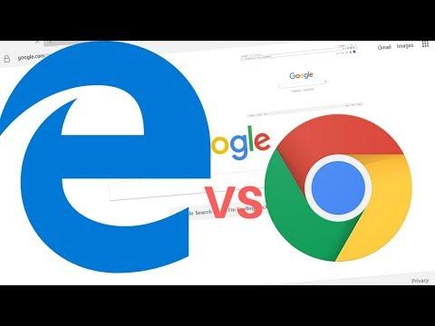 Windows 10 - Microsoft Edge Vs Google Chrome