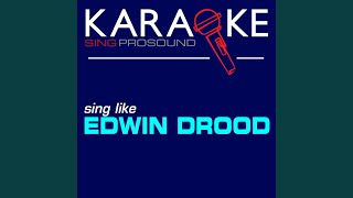 The Writing on the Wall (In the Style of Edwin Drood) (Karaoke Instrumental Version)