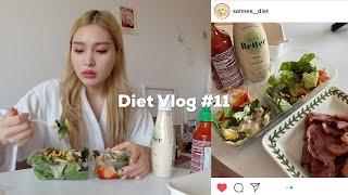 EN)Diet Vlog #11?샐러드는 역시 사먹어야 …
