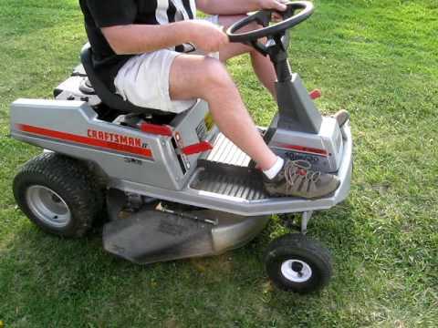 Sears 10 Hp Riding Mower   Tyres2c