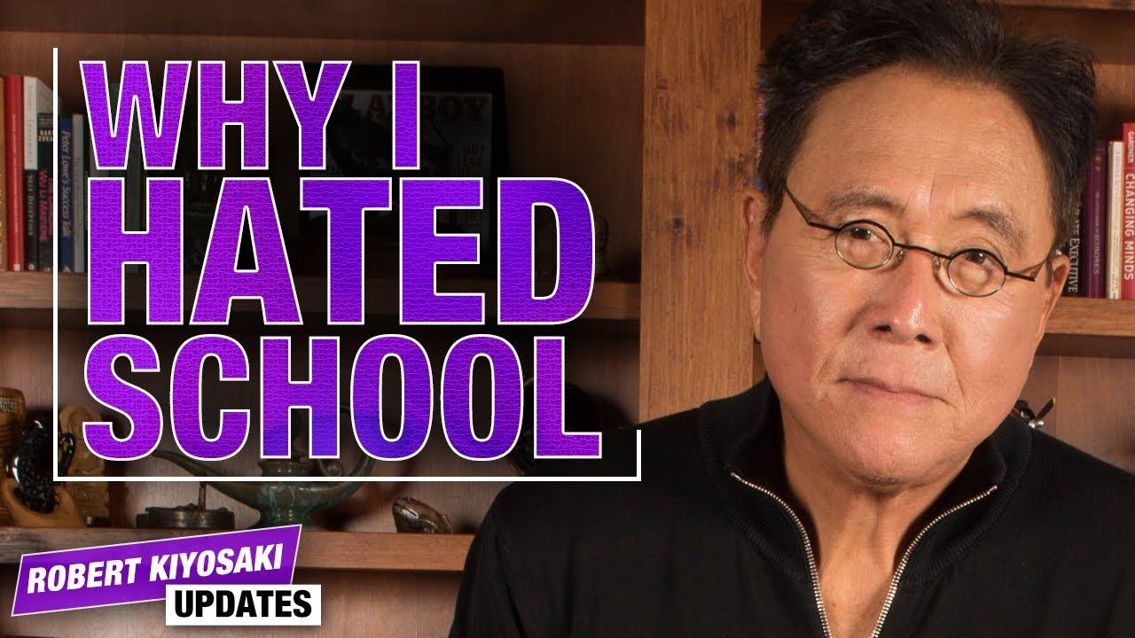 The Problem With Today's Education System - Robert Kiyosaki Quarantine Updates
