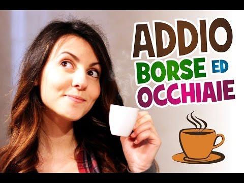 ADDIO  BORSE e OCCHIAIE con i FONDI DI CAFFE'!! | Le Ricette di Jennifer