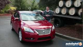 2013 Nissan Sentra Compact Sedan Car Video Review