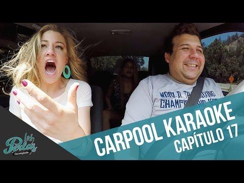 Carpool Karaoke con Andrés, Rachel y Sirena   Los Perlas
